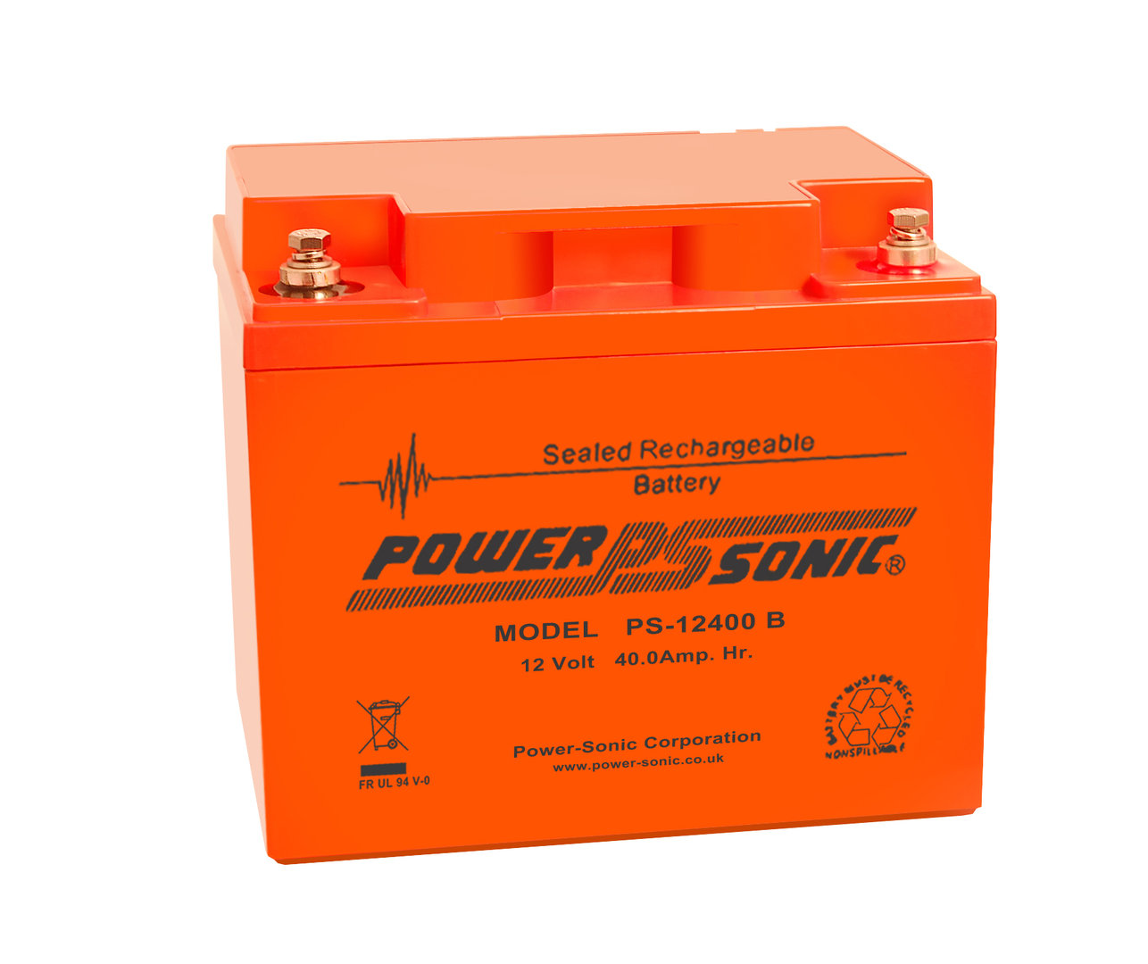 Power-Sonic 12V 40AH - PS12400 VO