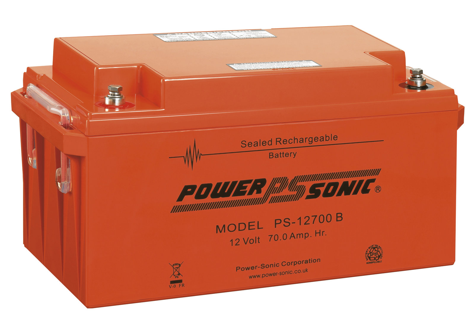 Power-Sonic 12V 70AH - PS12700VO
