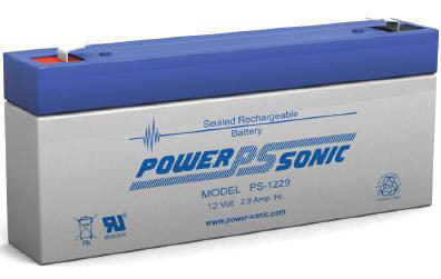 Power-Sonic 12V 2.9AH - PS1229L  LONGUE