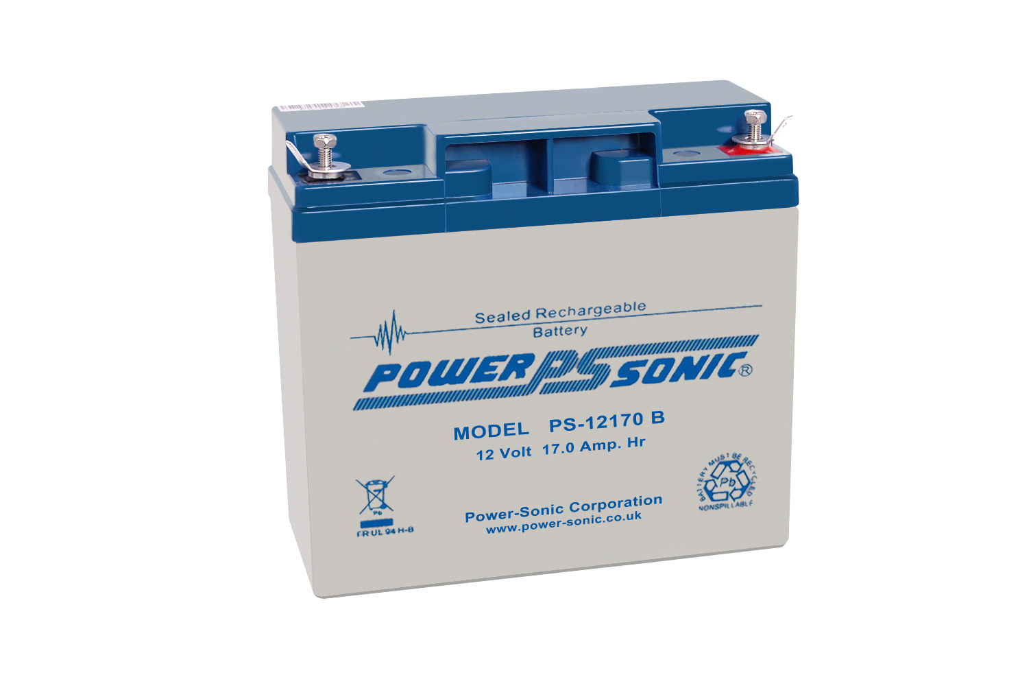 Power-Sonic 12V 17AH - PS12170GB