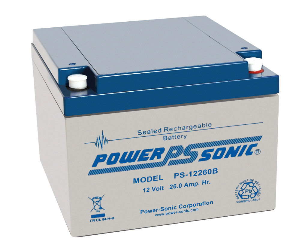 Power-Sonic 12V 26AH - PS12260GB