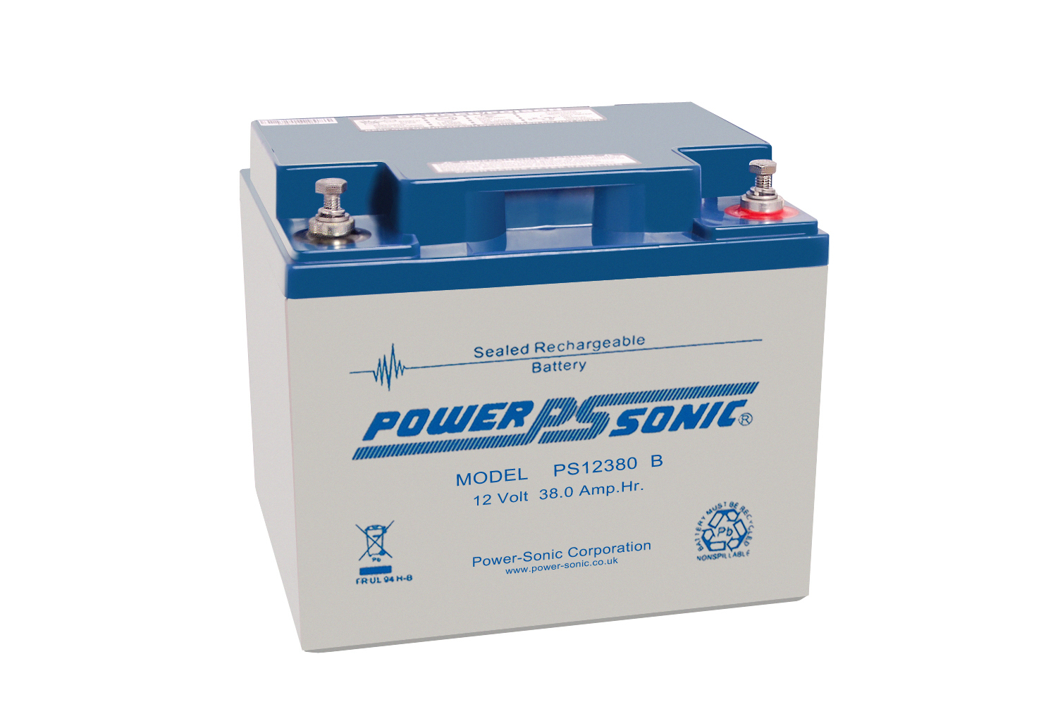 Power-Sonic 12V 38AH - PS12380GB