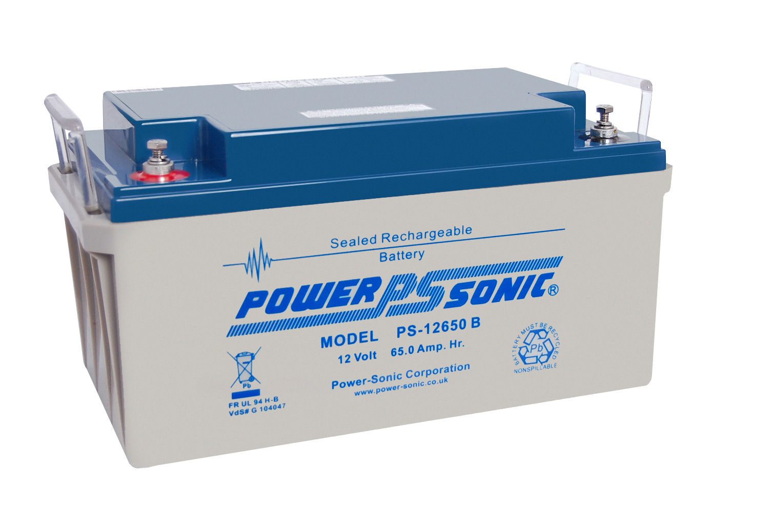 Power-Sonic 12V 65AH - PS12650GBL