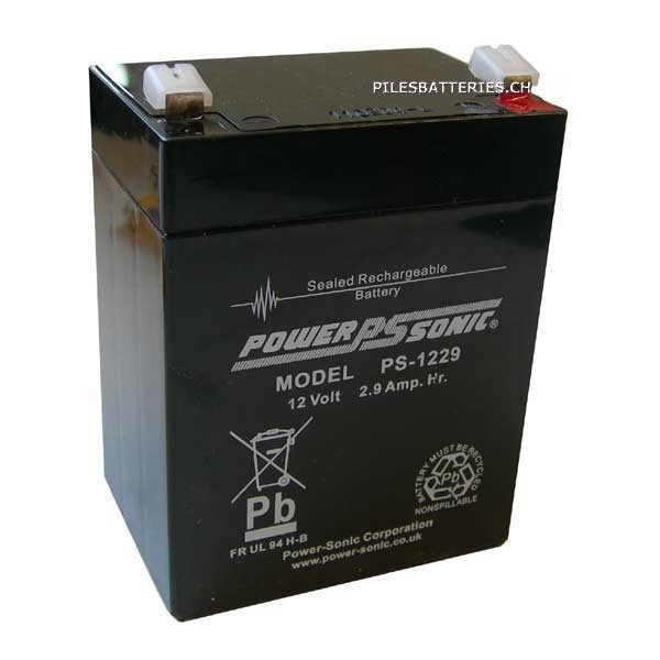 Power-Sonic 12V 2.9AH - PS1229GB