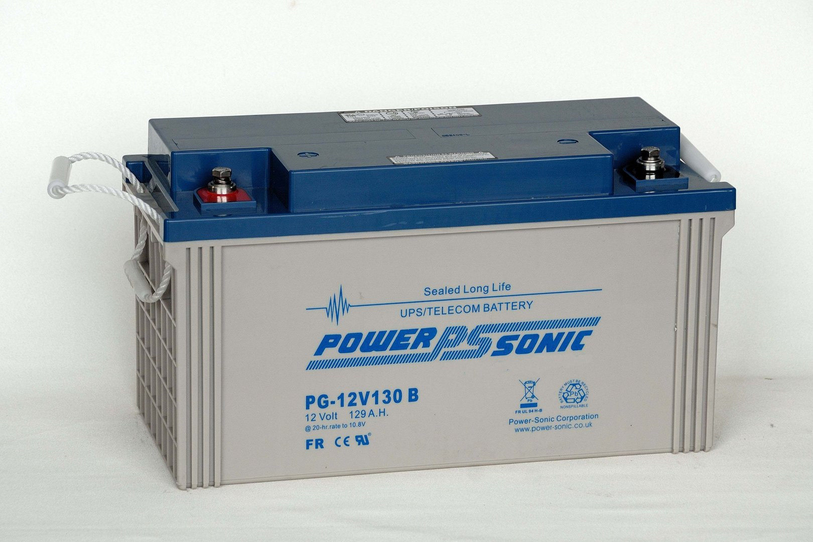 Power-Sonic 12V 130AH PG12V130