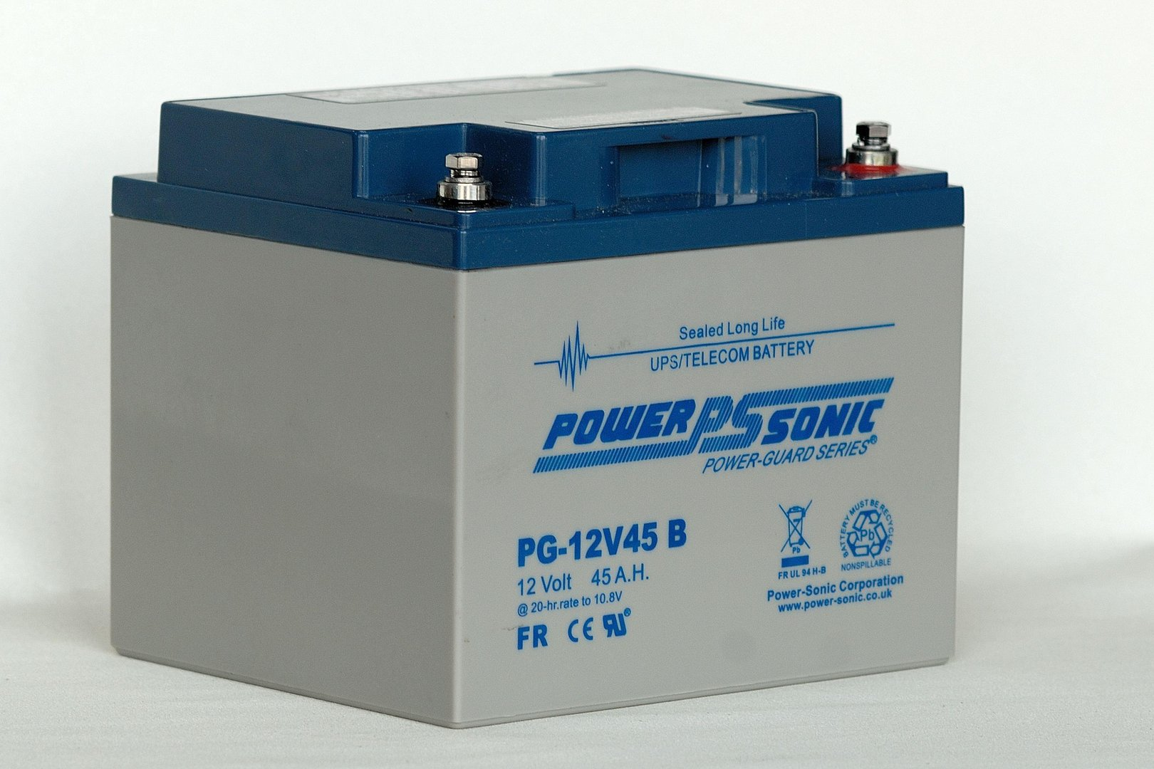 Power-Sonic 12V 45AH PG12V45