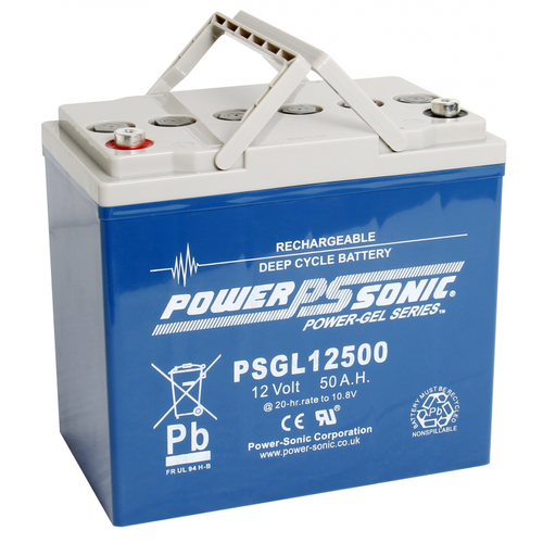 Power-Sonic 12V 50AH PSGL12500