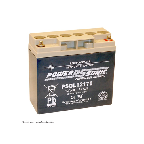 Power-Sonic 12V 17AH PSGL12170